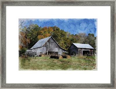 Autumn In Tennessee Framed Print by Benanne Stiens