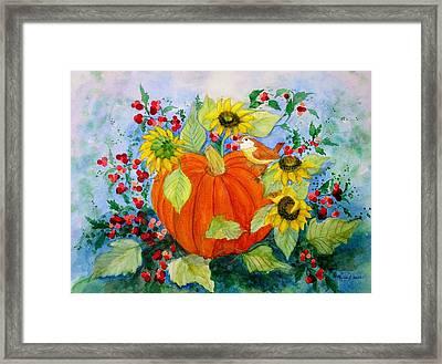 Autumn Framed Print by Laura Nance