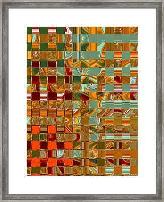 Autumn Leaves 8 Framed Print by Brooks Garten Hauschild