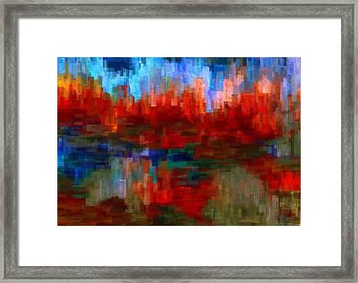 Autumn Leaves Framed Print by Jack Zulli
