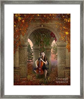 Autumn Melody Framed Print by Bedros Awak