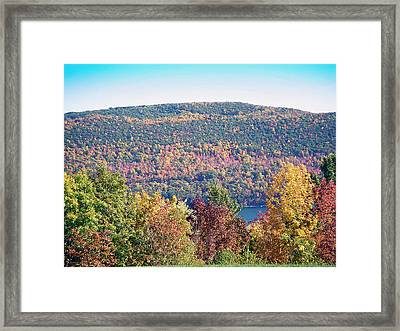 Autumn Mountain Framed Print by Aimee L Maher Photography and Art Visit ALMGallerydotcom