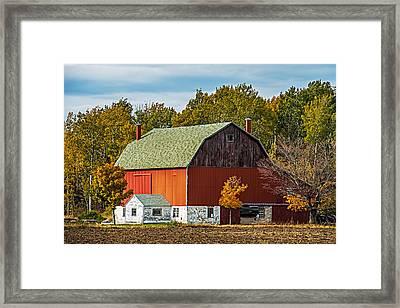 Autumn On The Farm Framed Print by Paul Freidlund