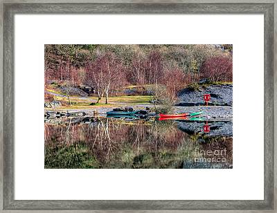 Autumn Reflections Framed Print by Adrian Evans