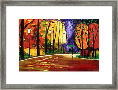 Autumn Scent Framed Print by Mariana Stauffer