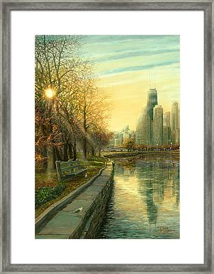 Autumn Serenity II Framed Print by Doug Kreuger