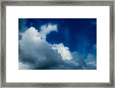 Autumn Skies Framed Print by Alexander Senin