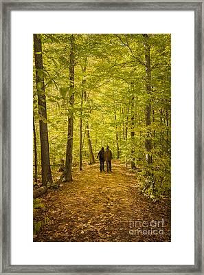 Autumn Song Framed Print by Evelina Kremsdorf
