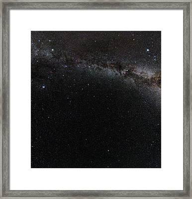 Autumn Stars Without Light Pollution Framed Print by Eckhard Slawik