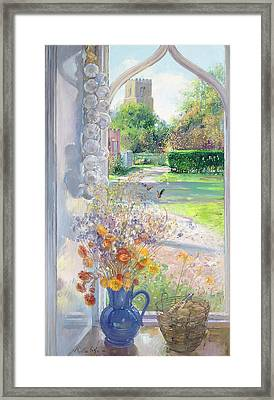 Autumn Still Life Framed Print by Timothy Easton