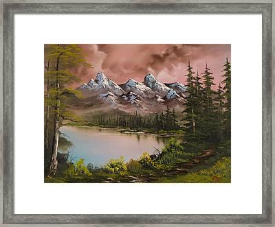 Autumn Storm Framed Print by C Steele
