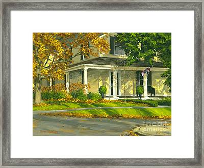 Autumn Sunlight II 18 X 24 Framed Print by Michael Swanson