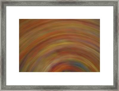 Autumn Swirl Framed Print by Dan Sproul