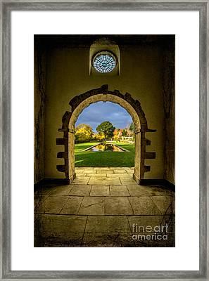 Autumn Views Framed Print by Adrian Evans