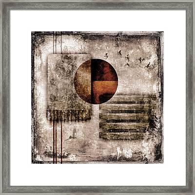 Autumnal Equinox Framed Print by Carol Leigh
