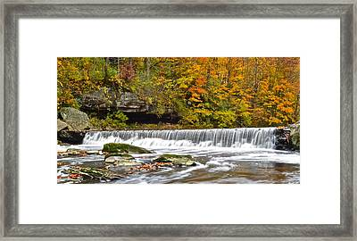 Autumnal Panorama Framed Print by Frozen in Time Fine Art Photography