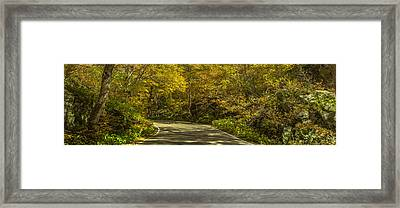 Autumnal Road Framed Print by Chris Fletcher