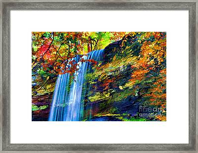 Autumns Calm Framed Print by Darren Fisher