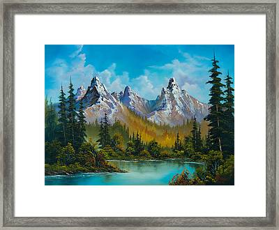 Autumn's Magnificence Framed Print by C Steele