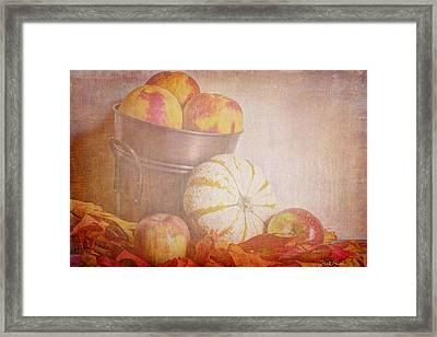 Autumn's Treats Framed Print by Heidi Smith