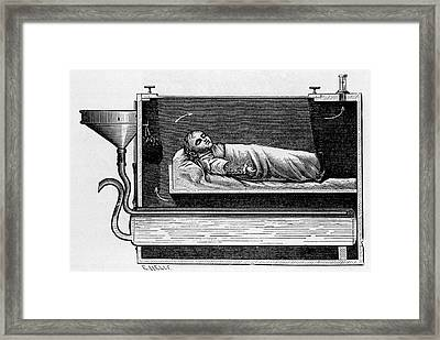Auvard Incubator Framed Print by National Library Of Medicine
