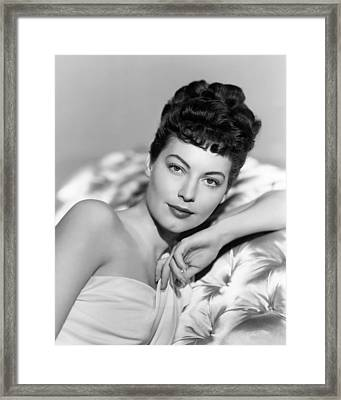Ava Gardner In One Touch Of Venus  Framed Print by Silver Screen