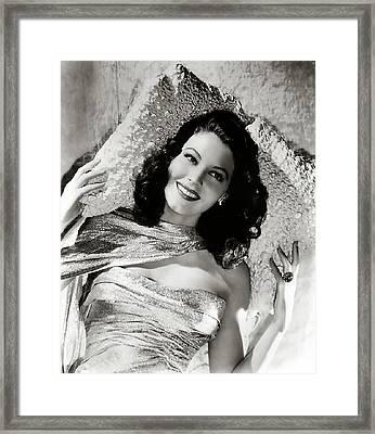 Ava Gardner Framed Print by Studio Release