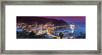 Avalon Sunset Framed Print by Sean Davey