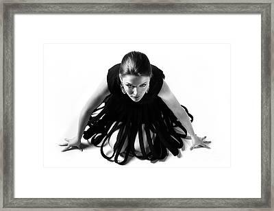 Avant Garde Fashion Framed Print by Diane Diederich