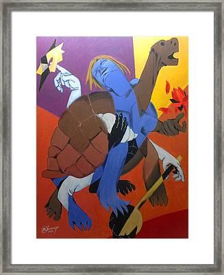 Avatar Series-kurma Framed Print by Chinmaya BR