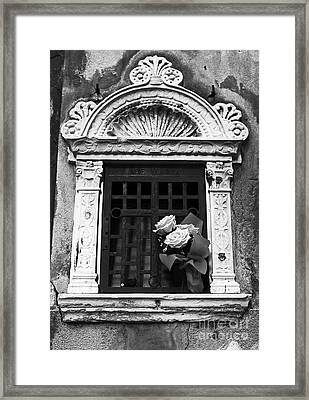 Ave Maria Framed Print by John Rizzuto