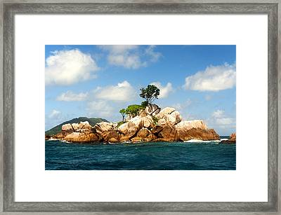 Ave Maria Rocks Framed Print by Fabrizio Troiani