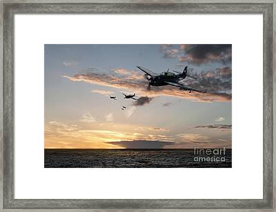 Avenger Framed Print by J Biggadike