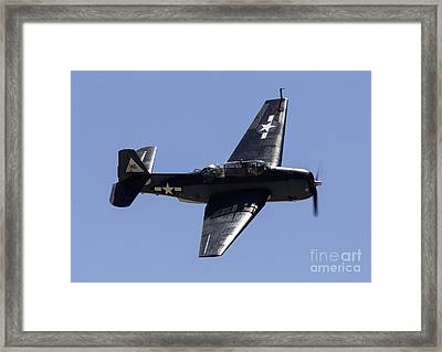 Avenger Framed Print by John Daly