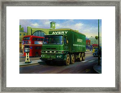 Avery's Erf Lv Framed Print by Mike  Jeffries