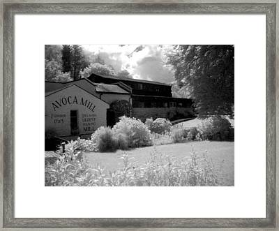 Avoca Mill Infrared Framed Print by Paulette Mortimer