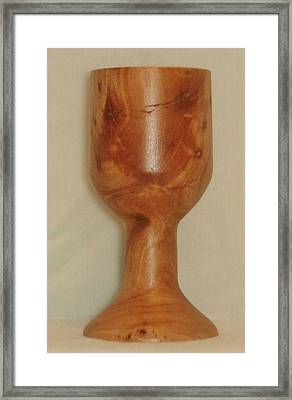 Avocado Goblet Framed Print by Russell Ellingsworth