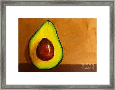 Avocado Palta Vi Framed Print by Patricia Awapara