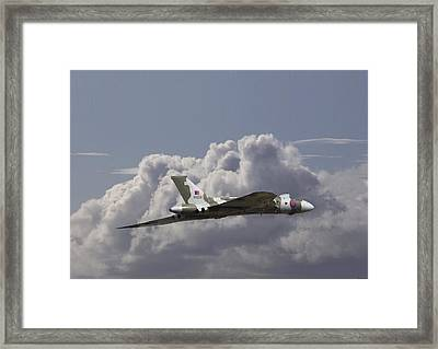 Avro Vulcan - High Transit Framed Print by Pat Speirs