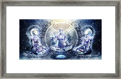 Awake Could Be So Beautiful Framed Print by Cameron Gray