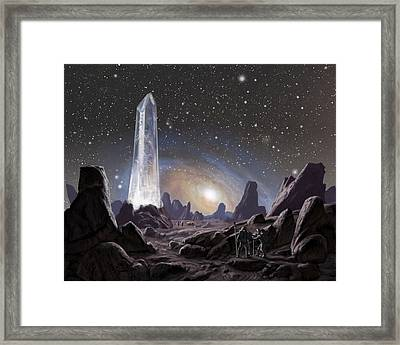 Awakening Framed Print by Armand Cabrera