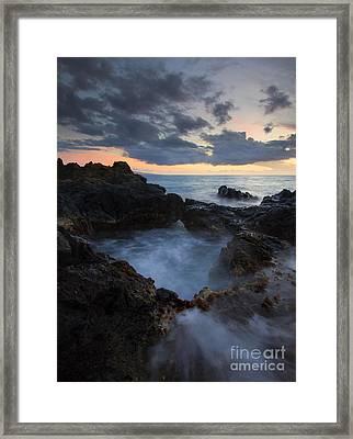 Awash Framed Print by Mike  Dawson