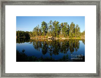 Awesub Morning 2 Framed Print by Larry Ricker