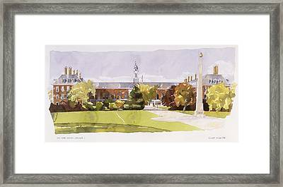The Royal Hospital  Chelsea Framed Print by Annabel Wilson