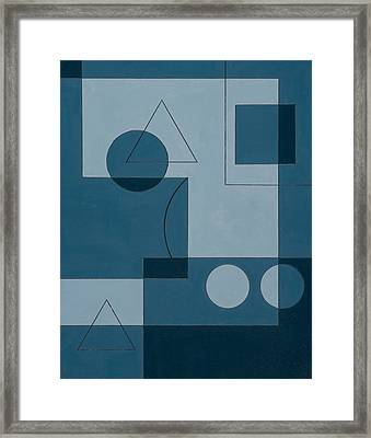 Axiom Framed Print by Peter Hugo McClure