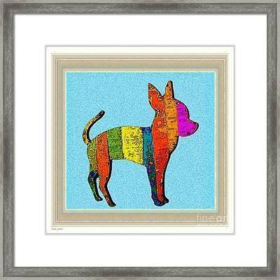 Aye Chihuahua Framed Print by Dale   Ford