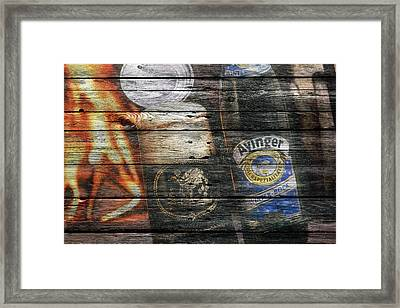 Ayinger Beer Framed Print by Joe Hamilton