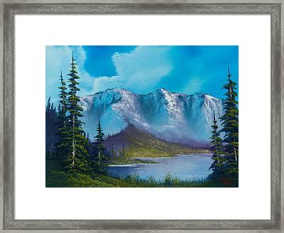 Azure Ridge Framed Print by C Steele