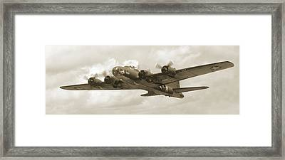 B-17 Flying Fortress Framed Print by Mike McGlothlen