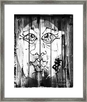 B And K Framed Print by Amanda Barcon